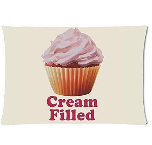 Broke Girls Cream Filled Pillowcase/Copricuscini e federe 20x30 Inch Two Sides Pillow Cushion Cover Sofa Pillow case/Copricuscini e federe