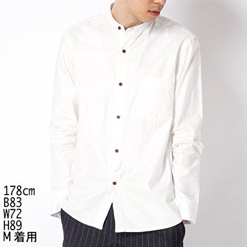 コムサコミューン(COMME CA COMMUNE) バンドカラーホワイトシャツ