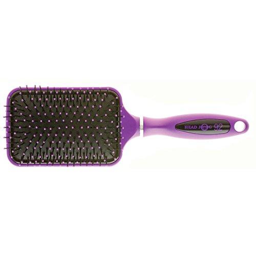 head-jog-92-purple-paddle-brush