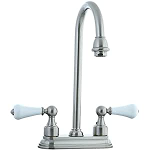 Cifial 272 225 031 Asbury Centerset Bar Faucet with White