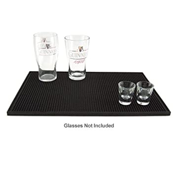 Set A Shopping Price Drop Alert For 18'' x 12'' Bar Service Mat, Black