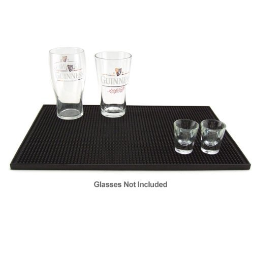 18'' x 12'' Bar Service Mat, Black Picture