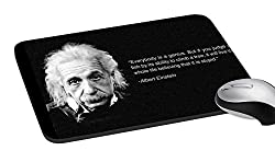 meSleep Einstein Quote Mouse Pad