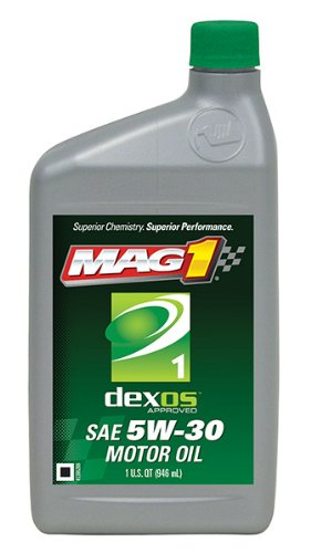 Mag 1 (62891-6PK) dexos1 5W-30 API:SN/GF-5 Motor Oil - 1 Quart, (Pack of 6)