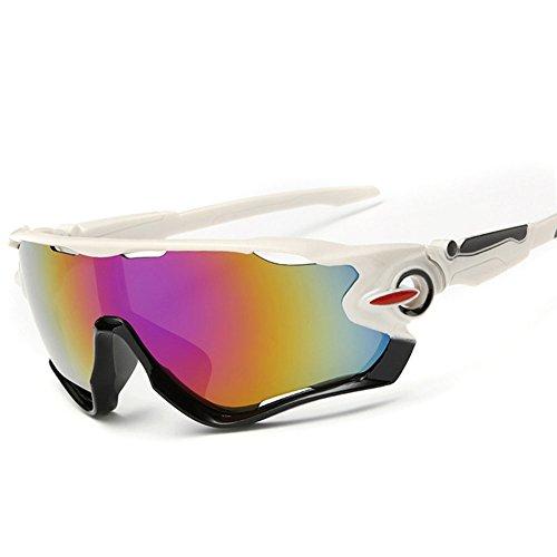 KRY-Occhiali da sole leggeri UV400, sportivi, Golf, per Driver, infrangibile da pesca, telaio in metallo
