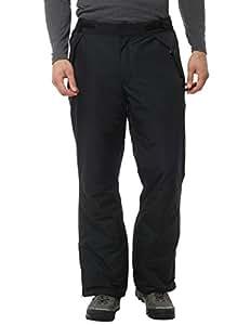 Ultrasport Pantalon de ski / snowboard Arlberg pour hommes avec Ultraflow 2.000 Noir S