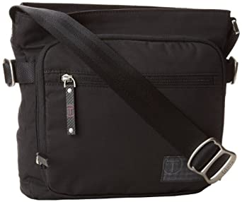 Tumi 国王男士斜跨包T-Tech Icon King Top Zip Crossbody 黑$79.99
