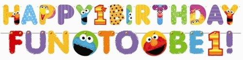 Imagen de Sesame Street 1st Birthday - Kit Jumbo Banner carta