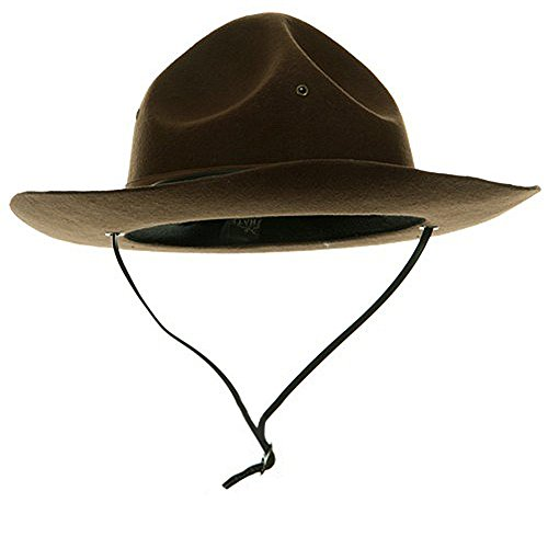 Adult Trooper Highway Patrol Canadian Mountie Uniform Costume Hat