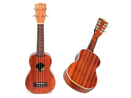Kala KA-S Mahogany Soprano Ukulele with Aquila Nylgut Strings