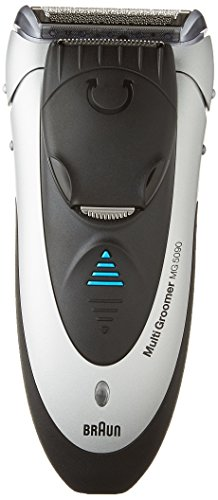 Braun multi groomer MG5090 All in One  Rechargeable and Cordless,  Wet and Dry Electric Trimmer, Styler, Shaver for Men (Braun Electric Beard Trimmer compare prices)