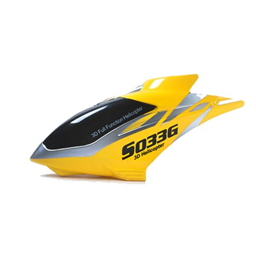 Syma Canopy for Syma S033G Heli, Yellow - 1