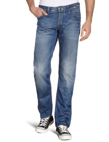 G-Star Men's Attacc Low Straight - 50625 Straight Leg Jeans Blue (Medium Aged 71) 38/32