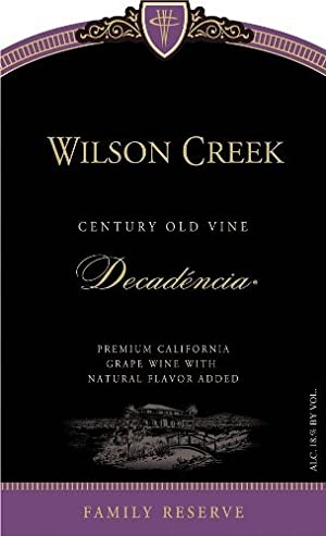 NV Wilson Creek Decadencia  375mL