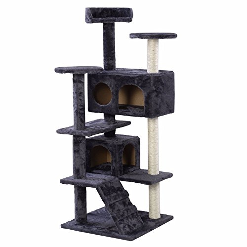 ships-from-usa-cat-tree-tower-condo-furniture-scratch-post-kitty-pet-house-play-gray