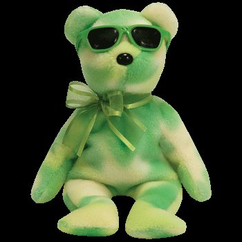 TY Beanie Baby - LIME ICE the Bear (Summer Gift Show Exclusive)