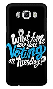 Dreambolic What Time Are You Voting Mobile Back Cover