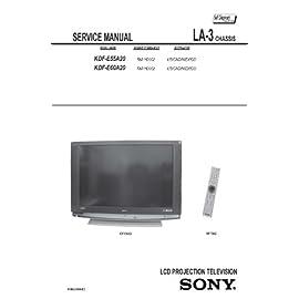 SONY KDFE55A20, KDFE60A20 Service Manual