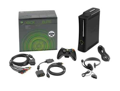 Microsoft-Xbox 360 Elite System Console Includes 120GB Hard Drive