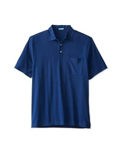 J. McLaughlin Men's Callahan Solid Pima Polo