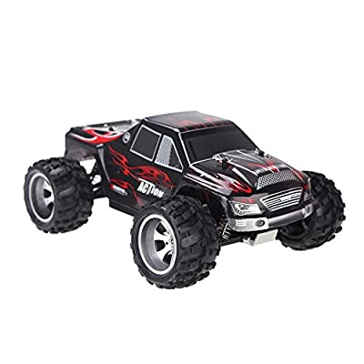 Babrit F9 2.4HZ 4WD High Speed 50KM/H 1:18 SCALE RC Cars Fast Race RC Cars Remote Control Trucks Racing Vehicle from Babrit