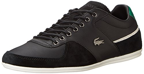 Lacoste Men's Taloire 16 Fashion Sneaker, Black, 9.5 M US