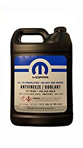 Mopar 10 Year/150,000 Mile Coolant 50/50 Premixed from MOPAR