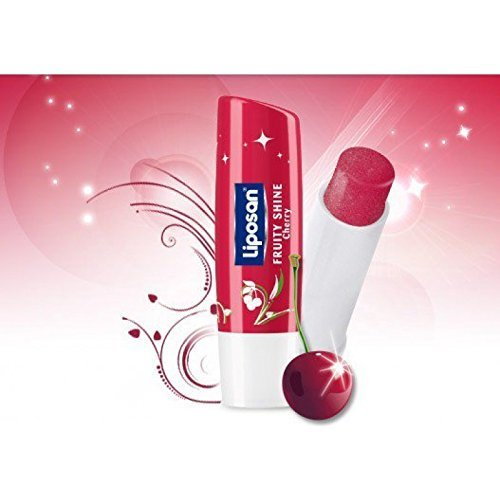Liposan (Labello) Fruity Shine CHERRY - Lip Care Balm - 4.8gr/5.5ml by Labello - Liposan