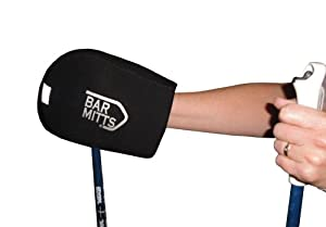 Buy Bar Mitts X-Country Snowshoe Ski Pole Mitts, Black, One Size by Bar Mitts
