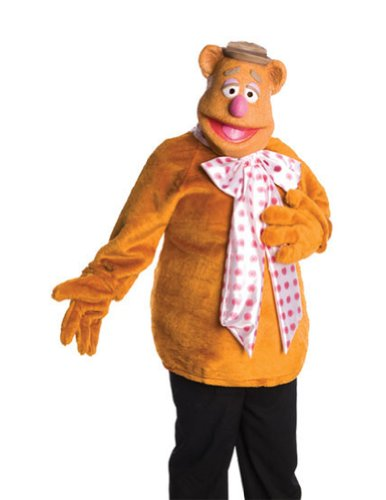 Fozzie Bear Adult Std Adult Mens Costume