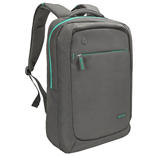 evecase-lightweight-nylon-water-resistant-multipurpose-backpack-for-up-to-156-inch-laptop-gray