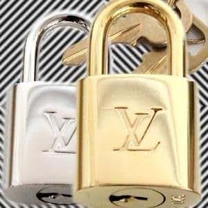 [ルイヴィトン]LOUIS VUITTON パドロック ゴールド シルバー ブライトタイプ R10000 R10024 ゴールドR10000 [並行輸入品]