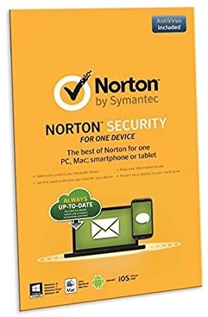 Norton Security 2.0 in 1 User 1 Device (PC)