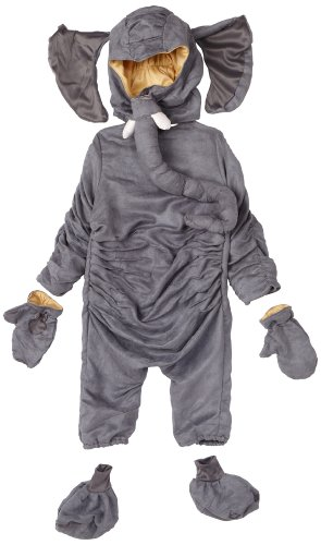 Little Golden Books Deluxe Saggy Baggy Elephant Costume, Gray, 12 - 18 Months