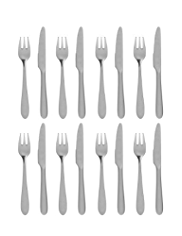 8 Piece Dessert Knife & Fork