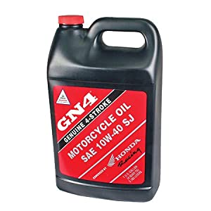 Amazon.com: Honda GN4 10W-40 Motorcycle Oil - Gallon: Automotive