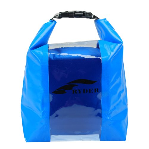 Hinter Outdoor Waterproof Floating Dry Resistant Storage Bag For Canoe Swimming Camping 5L Blue