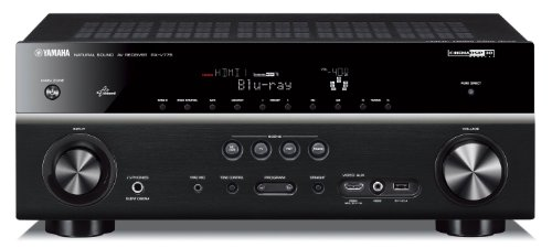 Yamaha RX-V 775 Black 7.2-Kanal AV Receiver (3D-Ready,