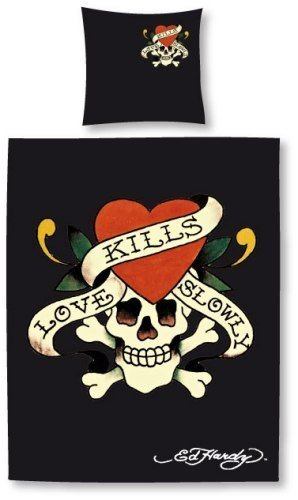 Ed Hardy Bettwäsche Love Kills