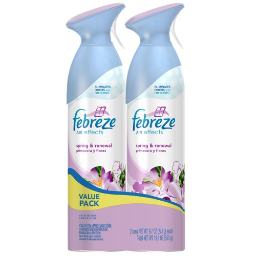 Febreze Air Effects Spring & Renewal Air Freshener (2 Count; 9.7 Oz Each) (Pack Of 6) front-350534