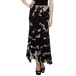 HansTann Women's Pencil Skirt (HTSKBL05 _Black_Small)