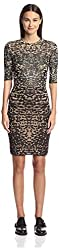 M Missoni Women's Shimmer Knit Dress, Gold/Multi, 40 IT/6 US