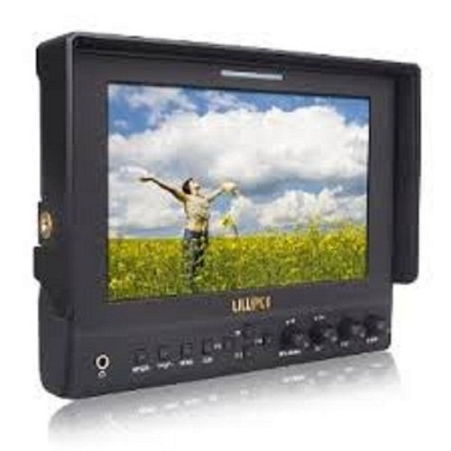 2013 New! Lilliput 7″ 663 LED Monitor 1280×800 IPS 800:1 Contrast with Suit Case+folding Sun Shade Cover