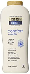 Gold Bond Ultimate Comfort Body Powder Aloe 10 Ounce Bottles
