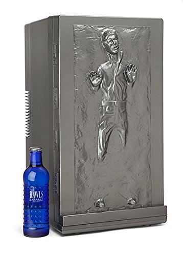 Han Solo Portable Fridge Holds up to 18 Cans of Soda Adjustable to Keep Items Hot or Cold