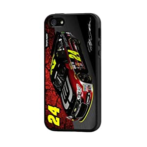 NASCAR Jeff Gordon 24 Drive to End Hunger iPhone 5 5S Rugged Case by Keyscaper