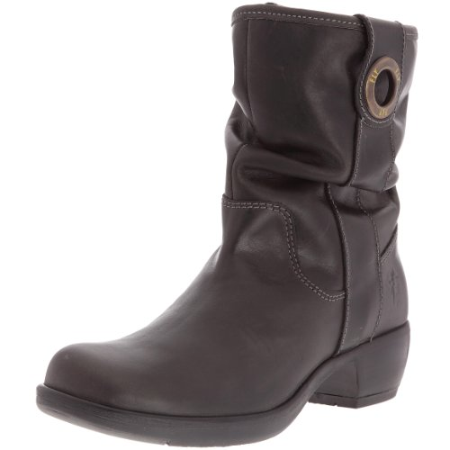 Fly London Women's Mary Ankle Boot Leather Anthracite P141310015 4 UK