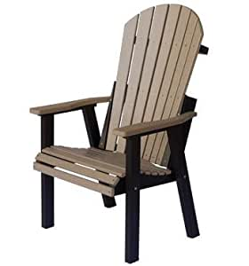 Amish Made Polywood Comfo Back Deck Chair
