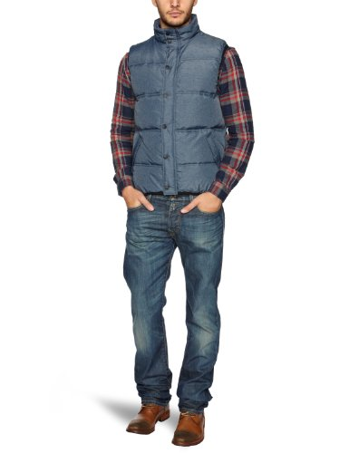 WRANGLER Tech Padded Men's Gilet Navy Small