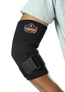 ProFlex 655 Neoprene Elbow Sleeve with Strap, Black, X-Large